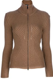 Jean Paul Gaultier Ribbed Sweater - Lyst