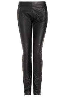 Joseph Osaka Leather Biker Trousers - Lyst