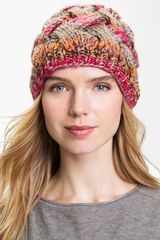 Laundry By Shelli Segal Cable Knit Beanie - Lyst