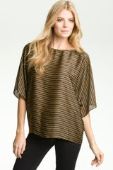 Michael by Michael Kors Chain Print Dolman Sleeve Top - Lyst