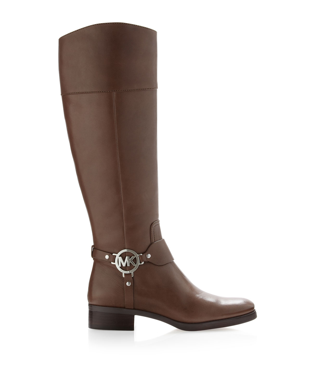 michael kors fulton harness boot in brown lyst