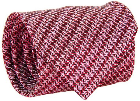 Missoni Safe As Houses Tie in Red (r) - Lyst