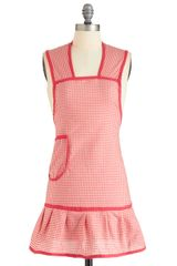 ModCloth Barbecute As Can Be Apron