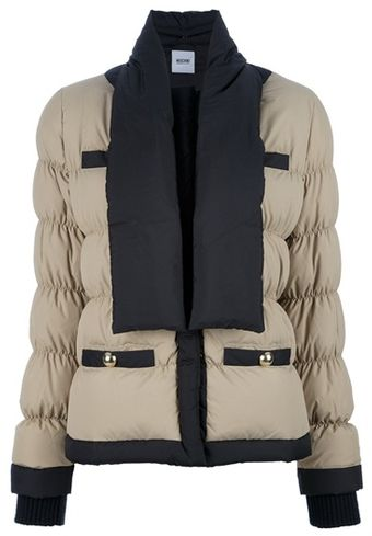 Moschino Padded Jacket - Lyst