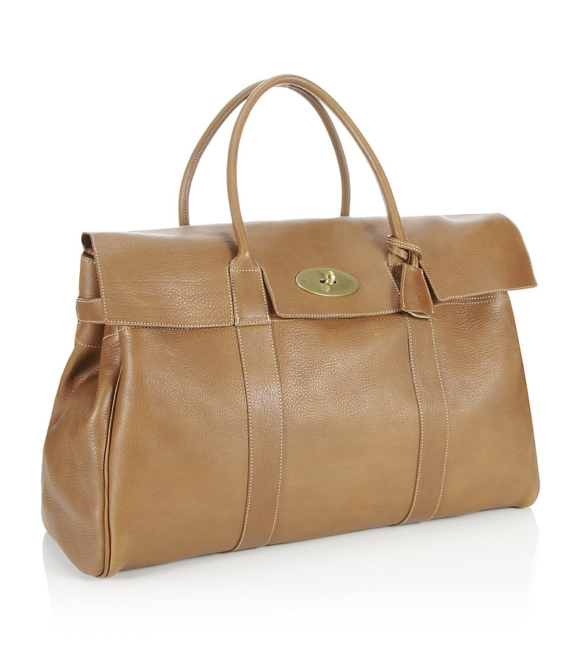 2431724698 Mulberry Piccadilly Travel Bag Oak in Brown - Lyst