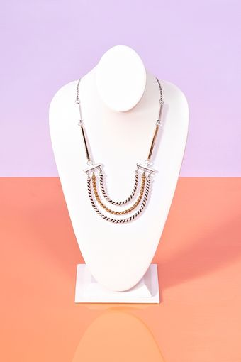 Nasty Gal Triple Rope Necklace - Lyst
