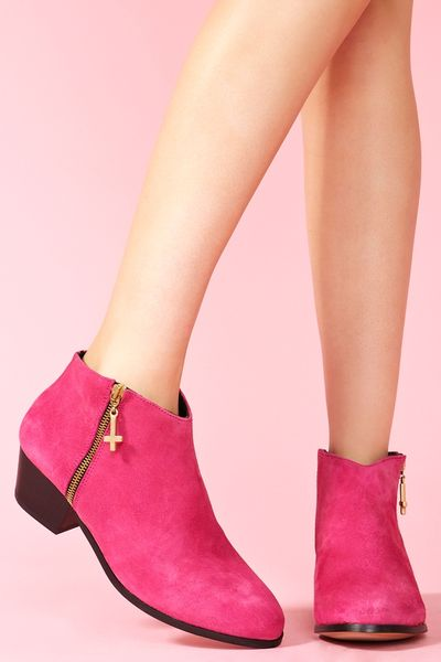 Hot Pink Ankle Boots Kia Ankle Boot Hot Pink in