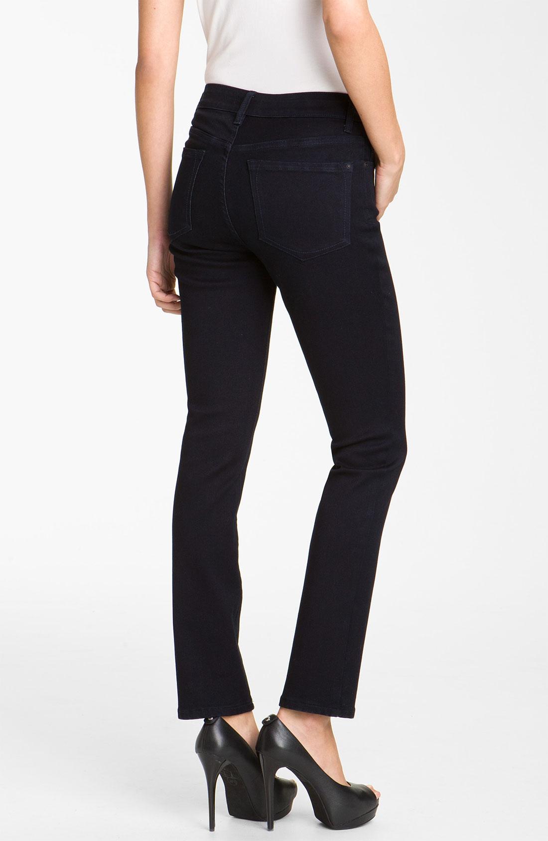 not your daughter 39 s jeans nydj jade leggings in blue. Black Bedroom Furniture Sets. Home Design Ideas