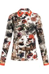 Preen Kara Mothprint Jersey Top - Lyst