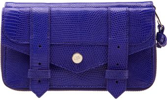 Proenza Schouler Ps1 Large Zip Wallet Iguana - Lyst