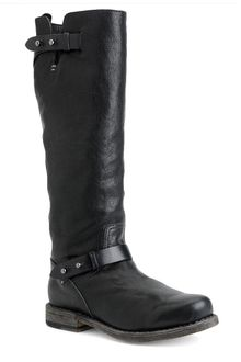 Rag & Bone Knee High Moto Boot - Lyst
