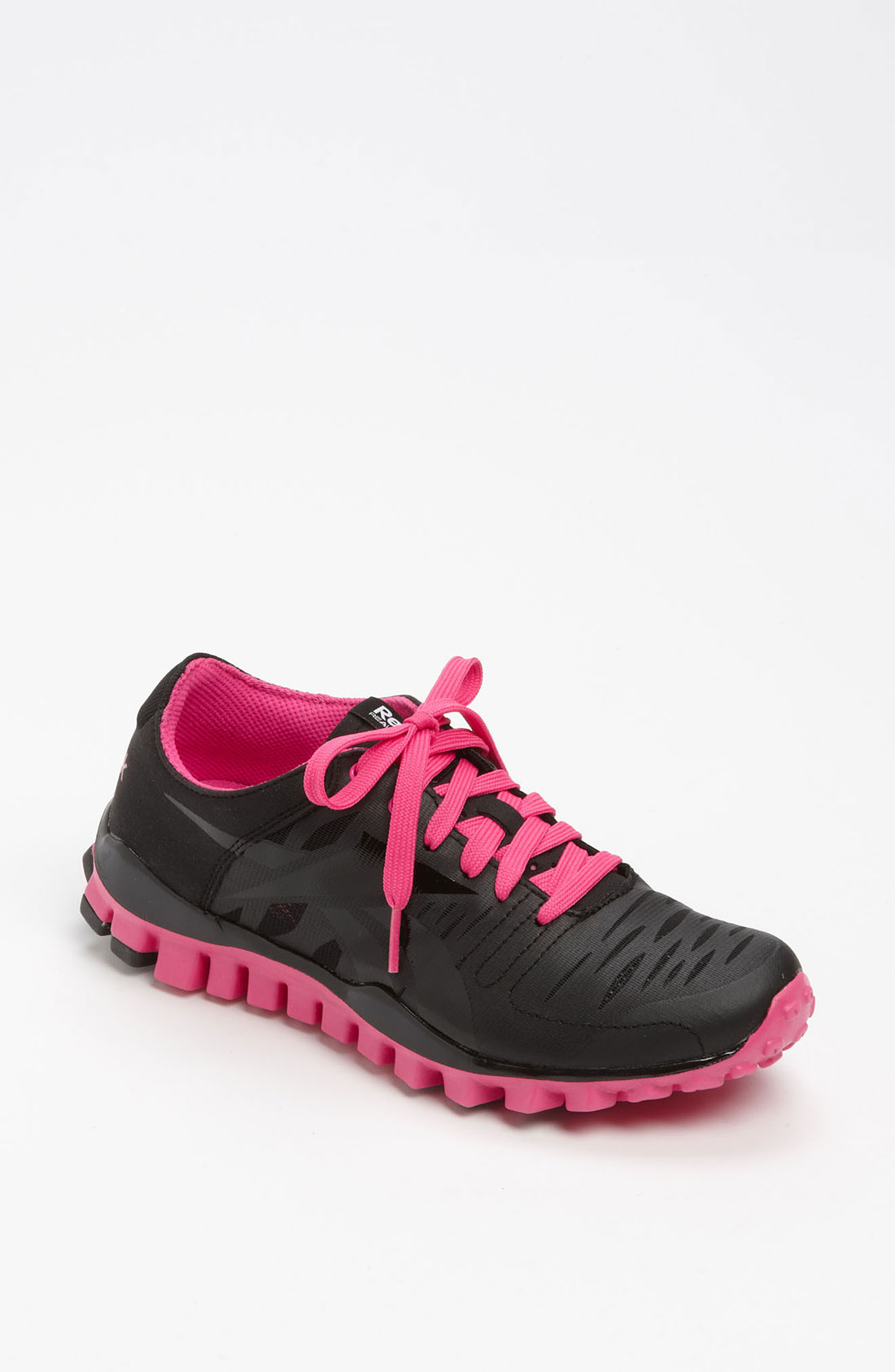 Reebok Realflex Fusion Training Shoe in Black | Lyst