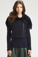Sachin & Babi Caitlin Faux Shearling Jacket in Blue (midnight) - Lyst