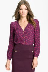 Tory Burch Jayden Silk Blouse - Lyst