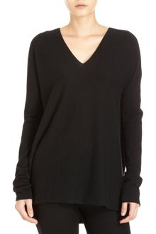Vince Double V Sweater - Lyst