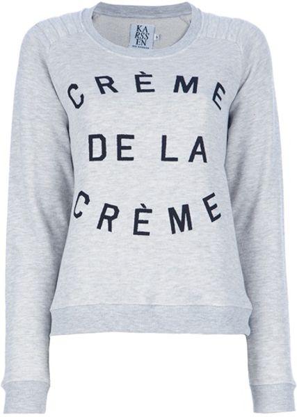 Zoe Karssen Creme Dela Creme Sweater Ebay 27