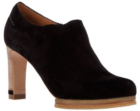 Chloé Bootee Shoe in Black - Lyst