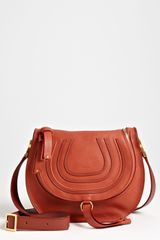 Chloé Marcie Leather Crossbody Bag - Lyst