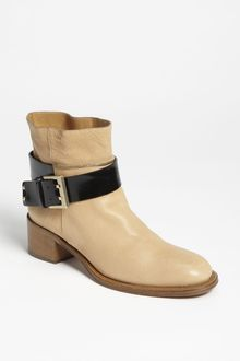 Chloé Buckle Short Boot - Lyst