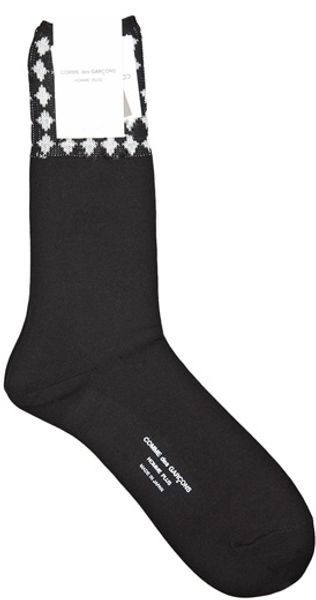 Comme Des Garçons Long Sock in Black for Men - Lyst