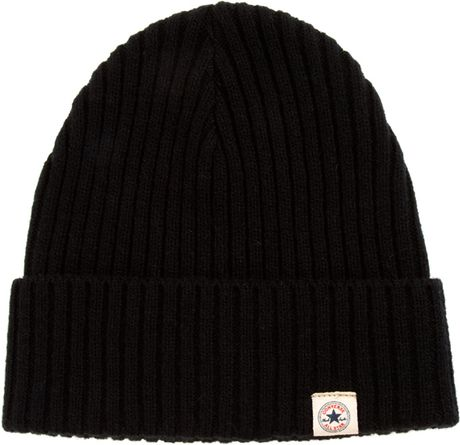 Converse Beanie in Black for Men
