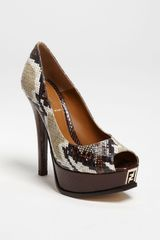 Fendi Sta Pump - Lyst