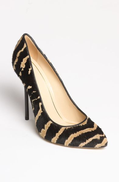 Gucci Noah Pump in Black (black/ tan) - Lyst