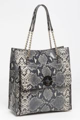 Kate Spade Denee South Kensington Snake Embossed Leather Shoulder Bag - Lyst