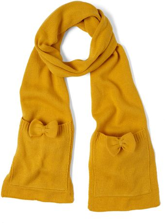 ModCloth One Accessory Wonder Scarf in Gold - Lyst