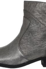 Nine West Nine West Womens Bogie Ankle Boot in Gray (pewter) - Lyst