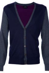 Paul Smith Cardigan - Lyst