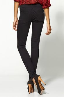Rag & Bone The Hyde Denim and Leather Jeans - Lyst