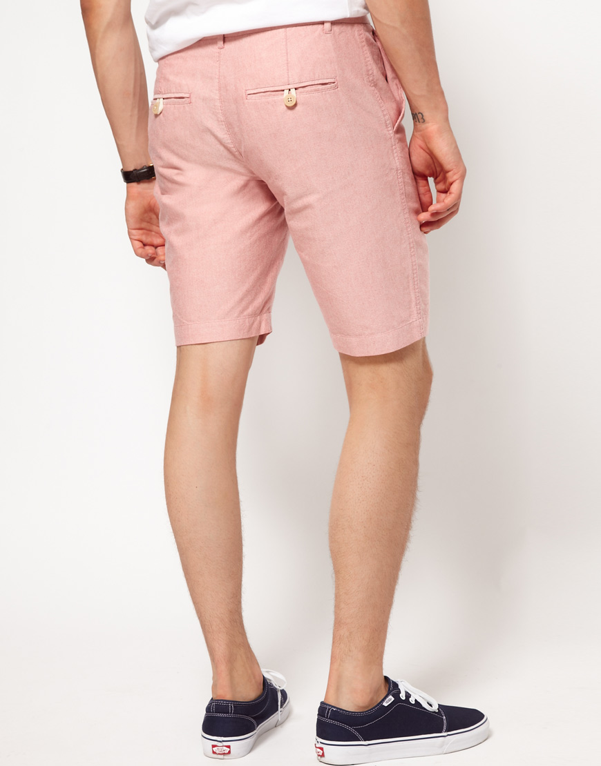 River island Shorts in Pink for Men   Lyst