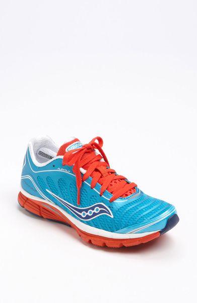 Saucony Progrid Kinvara 3 Running Shoe in Blue (blue/ white/ red