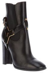 Yves Saint Laurent Mid-Calf Boot - Lyst
