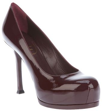 Yves Saint Laurent Shiny Pump - Lyst