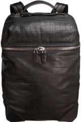Alexander Wang Croc Embossed Wallie Backpack - Lyst