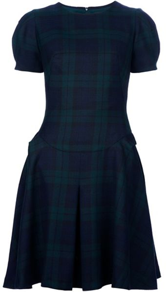 McQ by Alexander McQueen Tartan Dress - Lyst