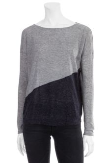 Alice + Olivia Colorblock Drape Shoulder Sweater - Lyst