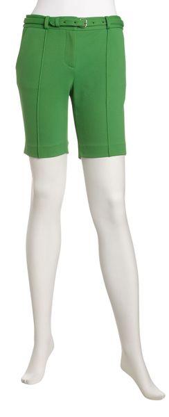 Diane Von Furstenberg Boymuda Shorts Cilantro in Green (cilantro)