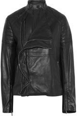 Haider Ackermann Leather Biker Jacket - Lyst