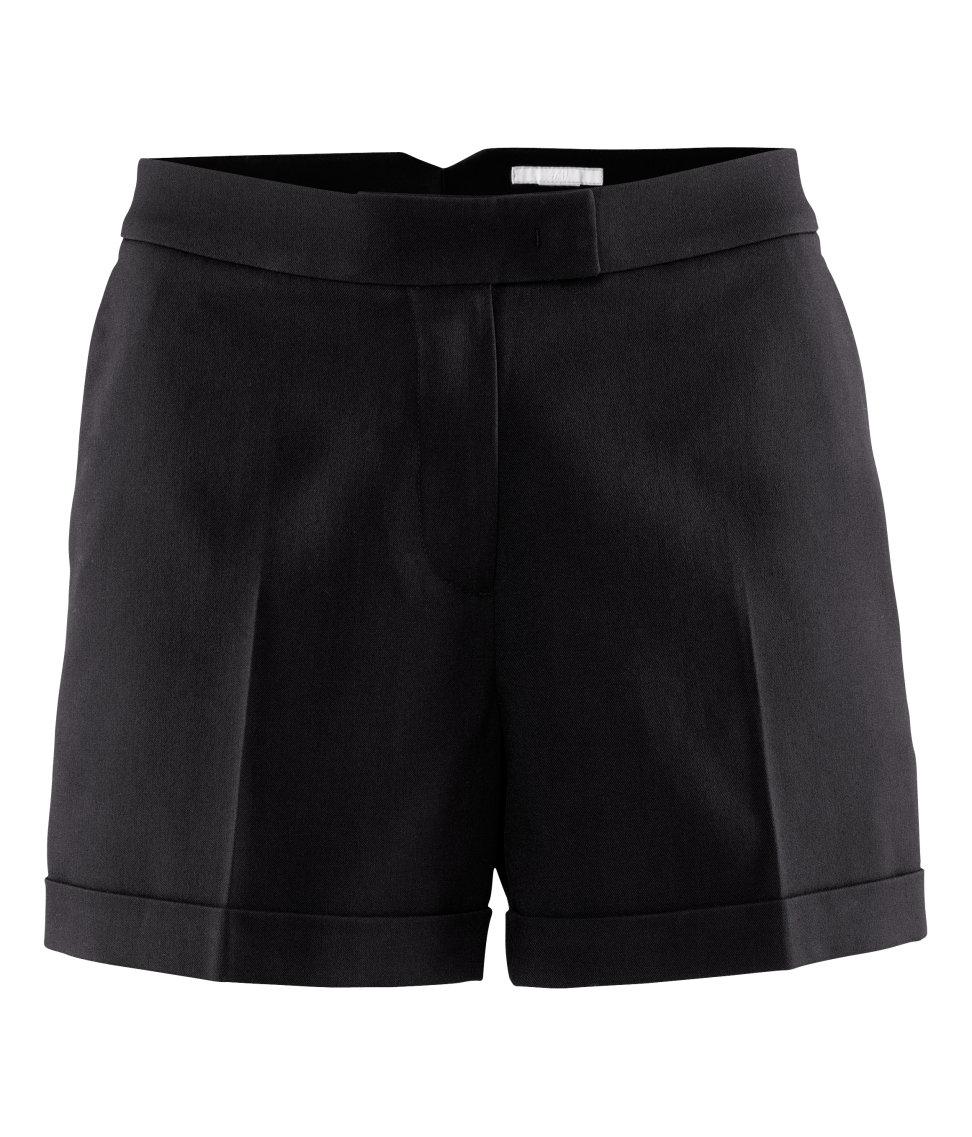 Hu0026m Shorts in Black | Lyst