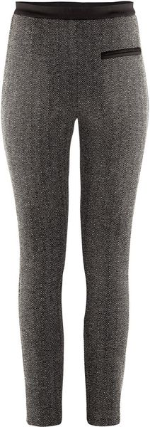 H&m Trousers in Black - Lyst