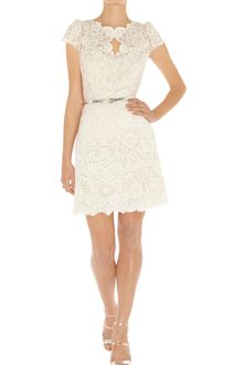Karen Millen Summer Cotton Lace Top - Lyst