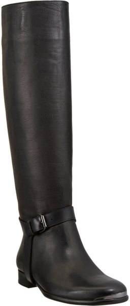Lanvin Ankle Harness Knee Boot - Lyst
