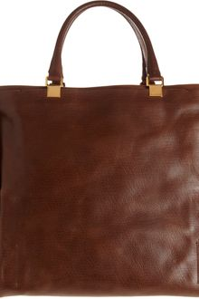 Lanvin Moon River Leather Shopper - Lyst
