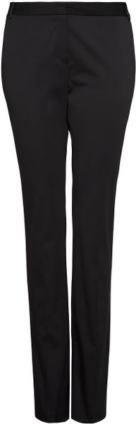 Mango Straightcut Suit Trousers in Black - Lyst