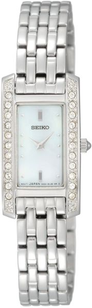 Seiko Womens Stainless Steel Bracelet 16mm Watch in Silver (steel) - Lyst