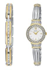 Seiko Womens Two Tone Stainless Steel Bracelet Watch - Lyst