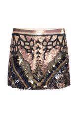 AllSaints Embellished Dreamcatcher Skirt
